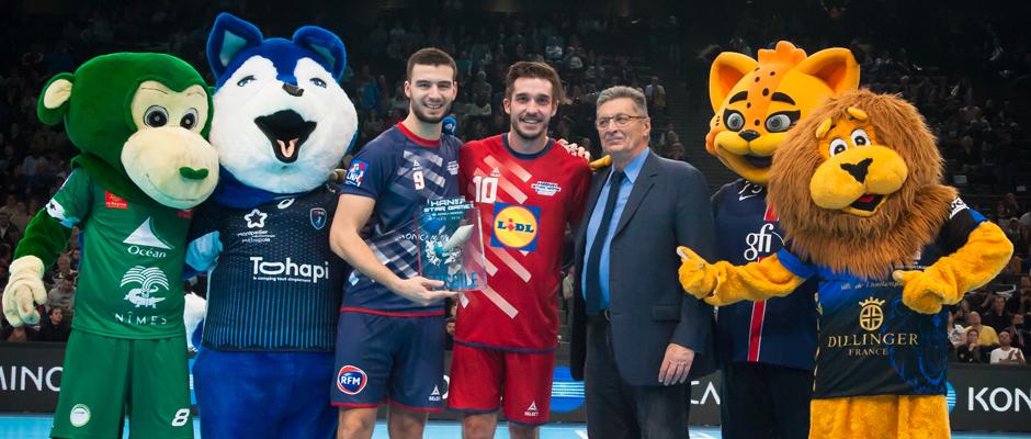 Nedim Remili et Alexandru Csepreghi avaient remporté le concours