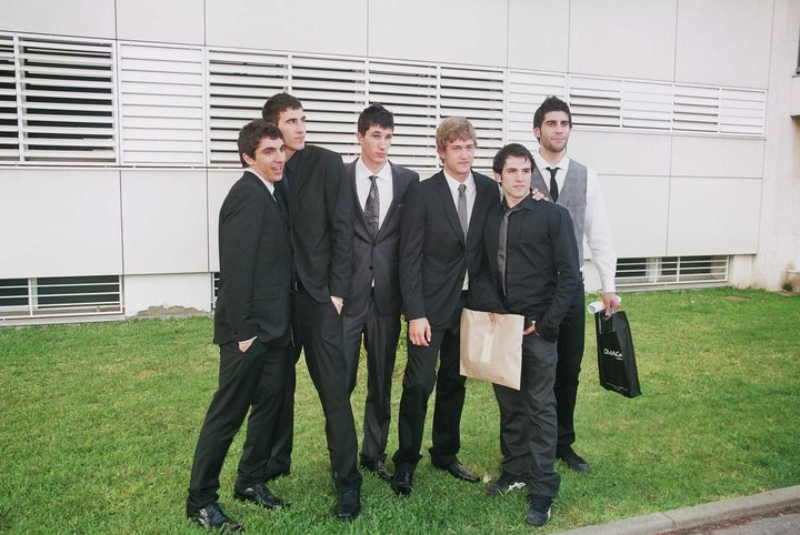 David Balaguer, ici avec Alvero Ruiz, Gonzalo Perez de Vargas et Rodrigo Corrales.