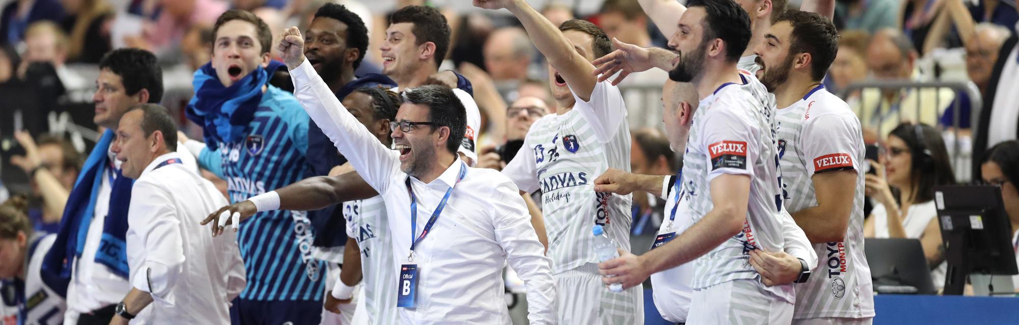 Le 27 mai 2018, alors adjoint de Patrice Canayer sur la banc montpelliérain, Erick Mathé remporte la Ligue des Champions