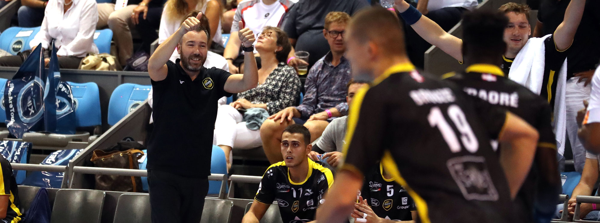 Laurent Busselier, désormais entraîneur adjoint, est un élément essentiel de par son rôle de responsable du centre de formation