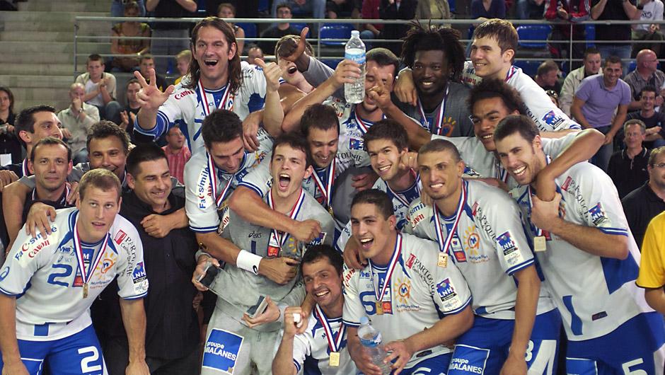 Mai 2007 à Metz, Montpellier remporte sa 4ème Coupe de la Ligue face à Ivry