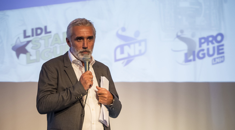 Philippe Bernat-Salles, président de la Ligue Nationale de Handball