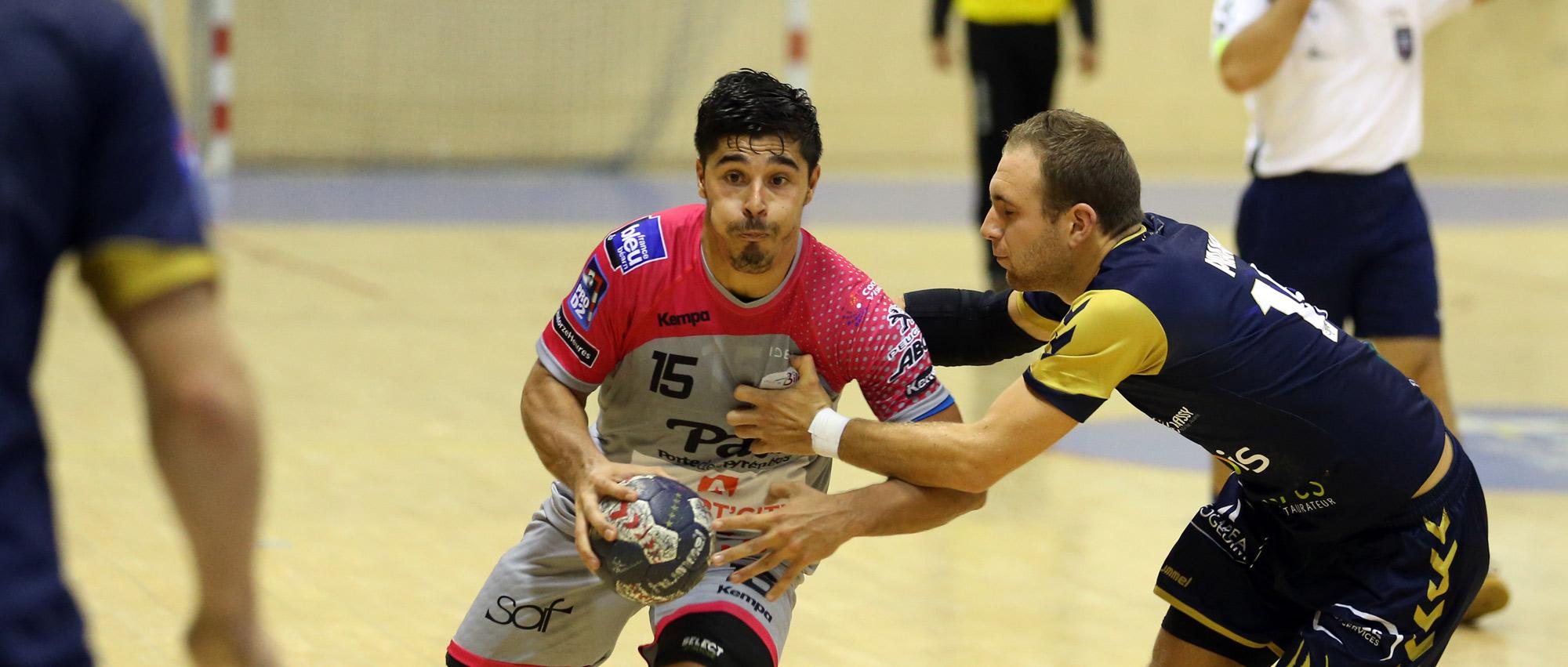 Guillaume Crépain, ici sous les couleurs billèroises, lors d'un match de Proligue contre Massy ( saison 2015/2016).