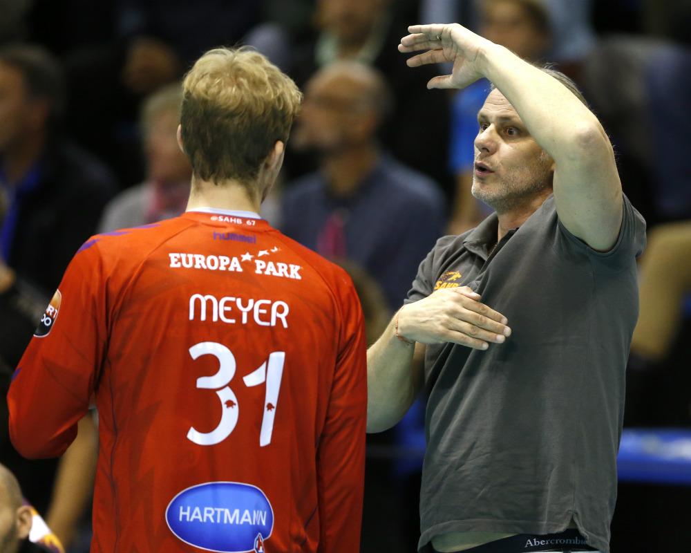 Julien Meyer a également pu apprendre aux côtés de Christian Gaudin.