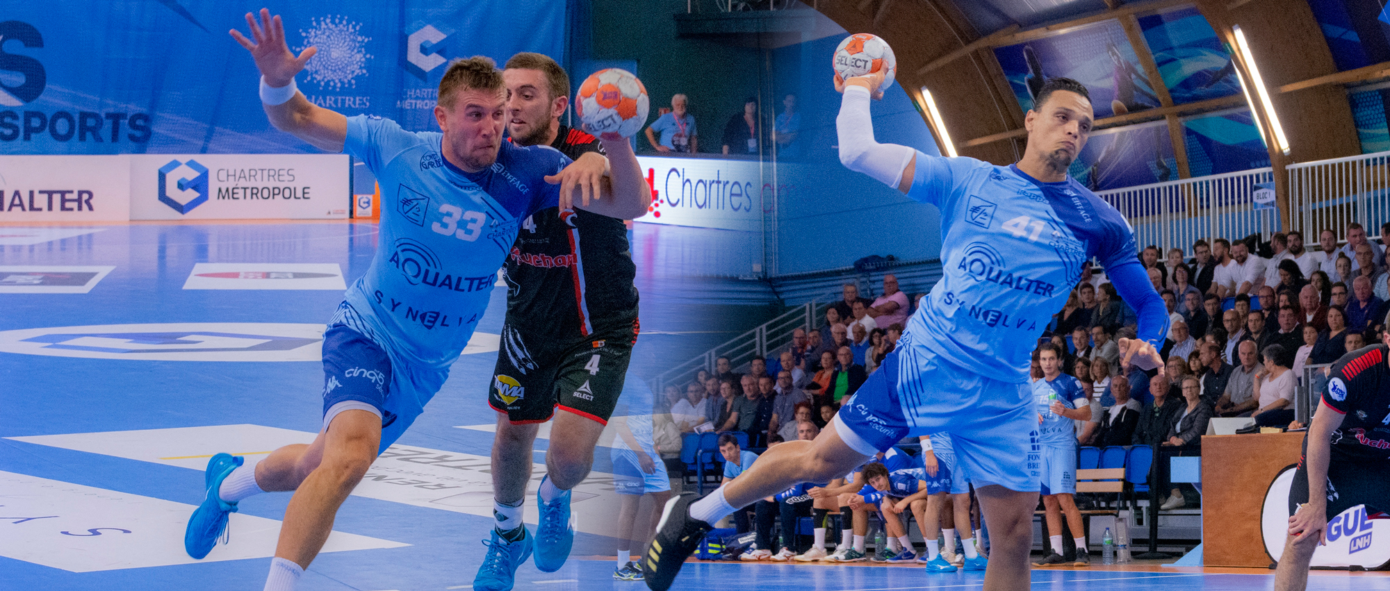 Sergiy Onufryenko (à gauche) et Youssef Ben Ali (à droite) sont arrivés à l'intersaison.