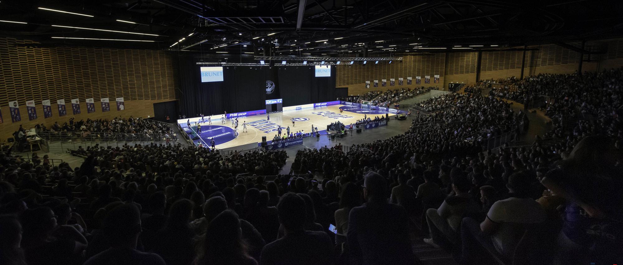 Le 20 décembre 2019 dans le cadre de la 13ème journée de Proligue, Limoges a reçu Strasbourg au Zénith devant plus de 4300 personnes.