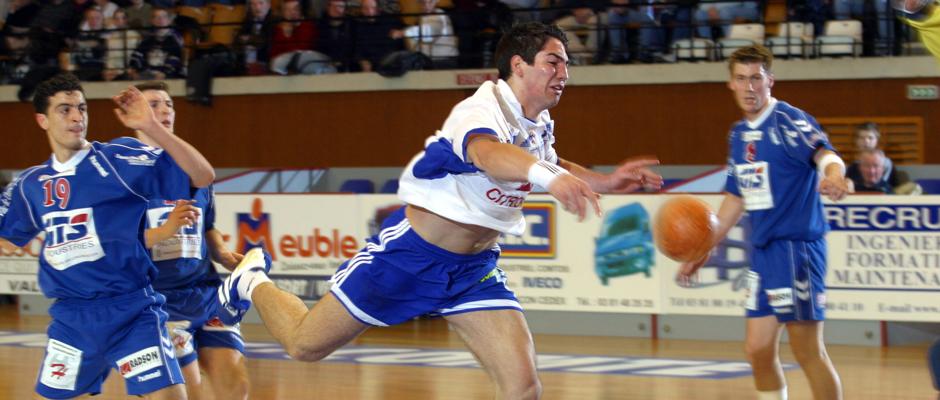 Nikola Karabatic contre Dunkerque, quelques mois avant qu'il ne soulève la Ligue des Champions