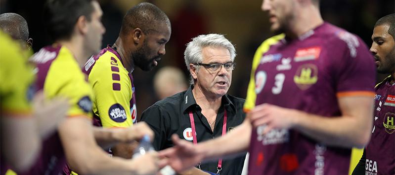 Thierry Anti et son équipe seront pour la deuxième fois consécutif au rendez-vous des quarts de finale de Ligue des Champions.