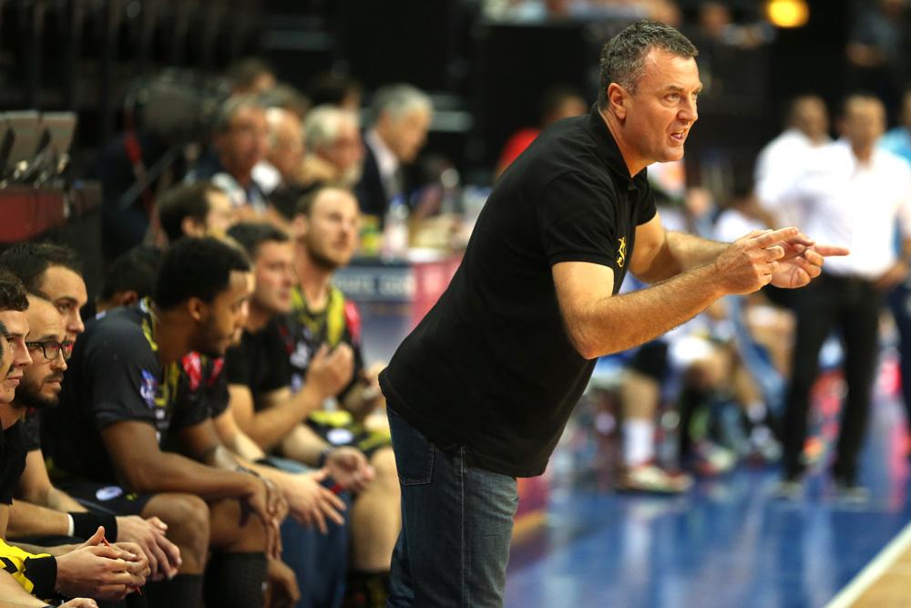 Ivica Obrvan, coach du Chambéry Savoie Mont-Blanc Handball