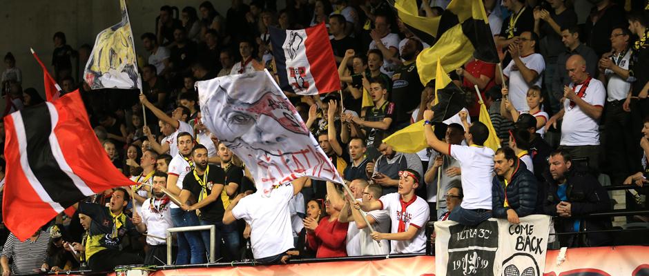 Des supporters du club de Chambéry