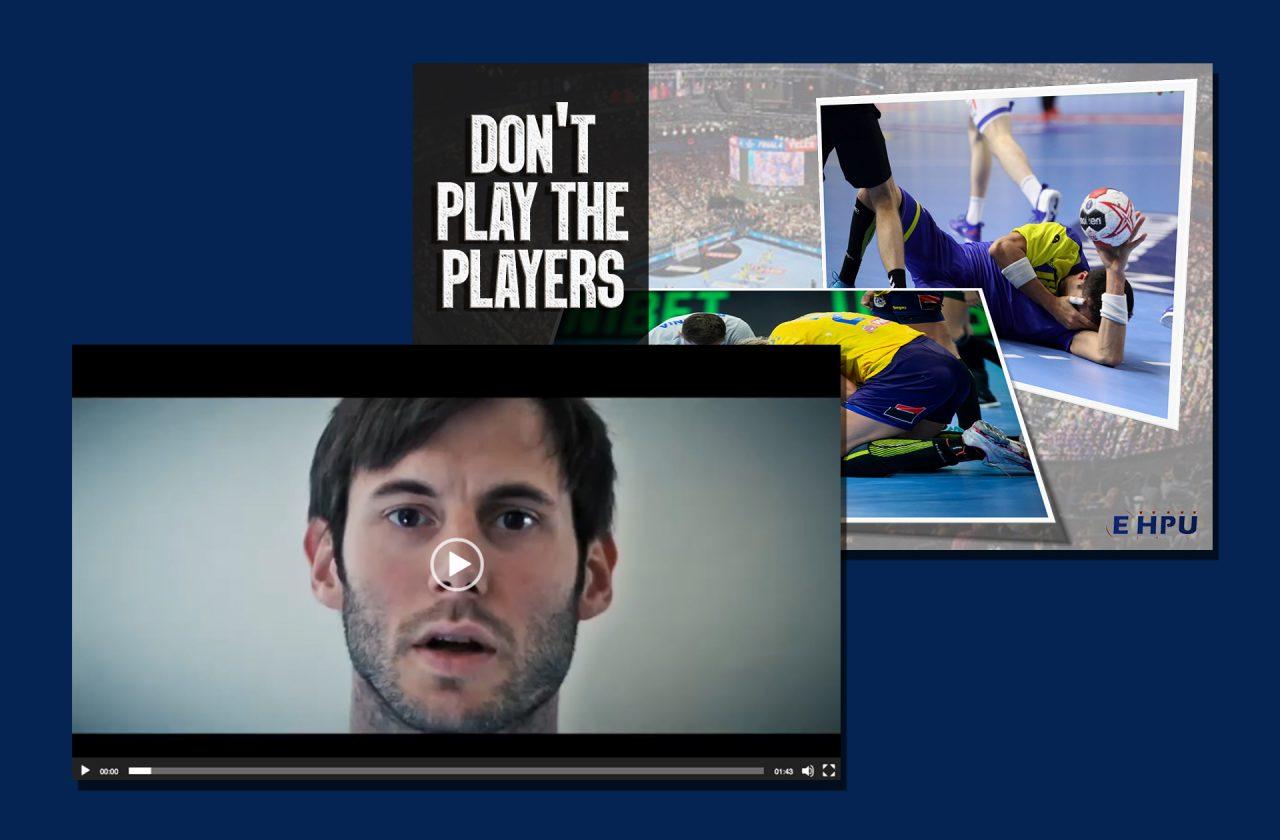 Vidéo et visuels relayés par les joueurs européens
