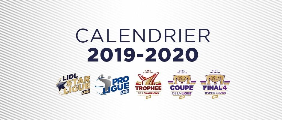 Calendrier Saison 2020.Le Calendrier De La Saison 2019 2020 Est Connu