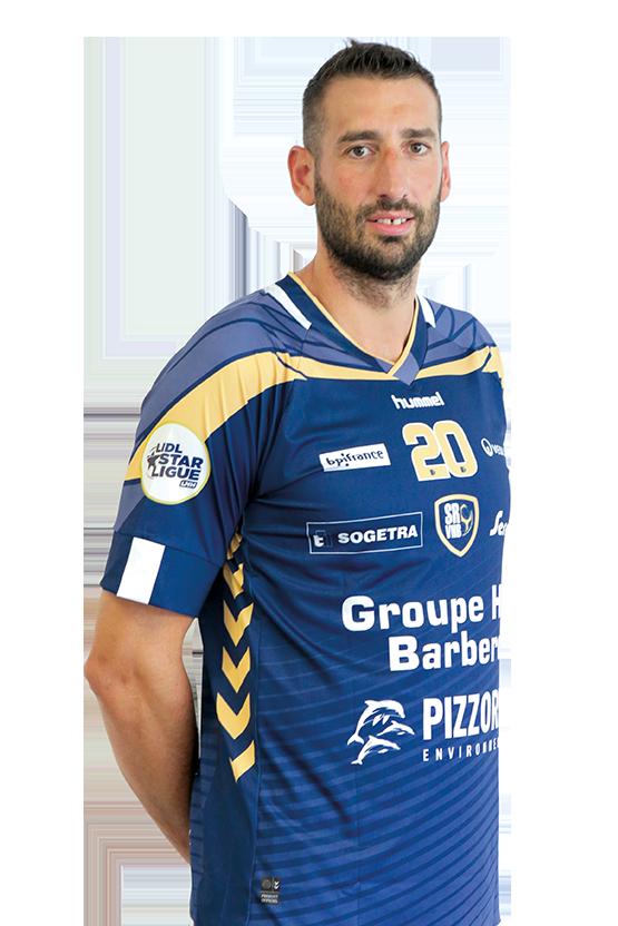 joueur Raphaël CAUCHETEUX
