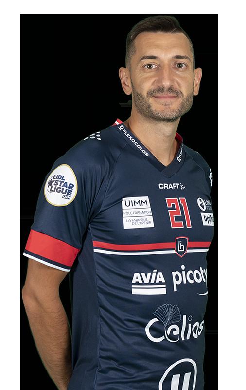 joueur Dragan GAJIC