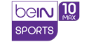 Match diffusé sur  Bein Sports Max 10