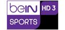Match diffusé sur  BEIN SPORTS 3